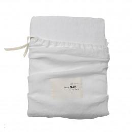 Prześcieradło Washed Linen 240x260cm Optical White