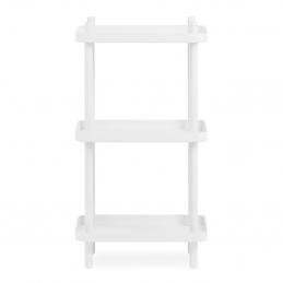 Biały regał Block Shelf Normann Copenhagen