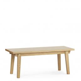 Drewniany stolik kawowy Slice Vol.2 Oak Normann Copenhagen
