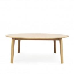 Duży stół Slice Vol.2 Ø200 Oak Normann Copenhagen