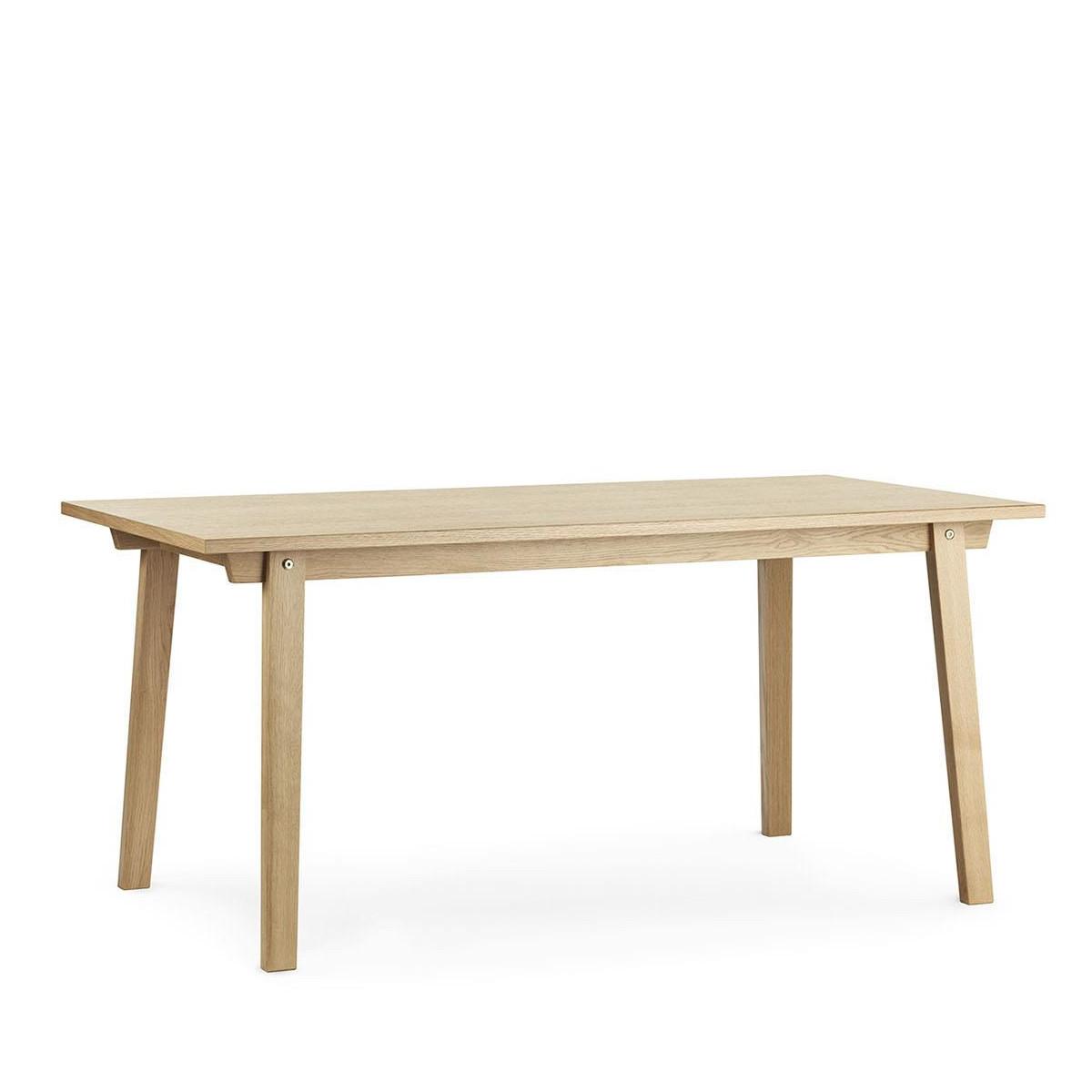 Dębowy stół Slice Vol.2 84x160 Oak Normann Copenhagen