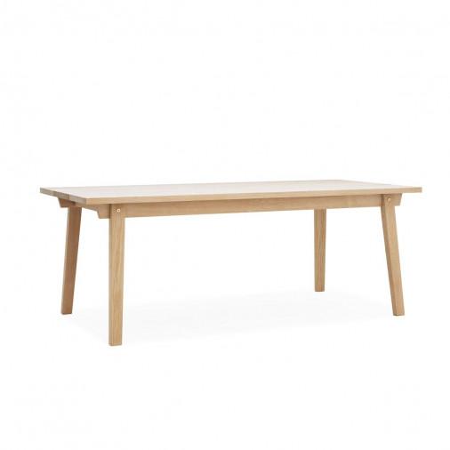 Dębowy stół Slice 90 x 200 Oak Normann Copenhagen