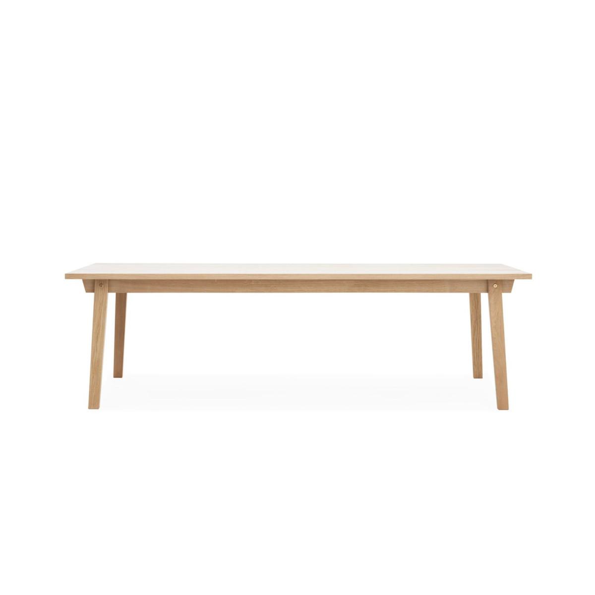 Solidny stół Slice 90 x 250 Oak Normann Copenhagen