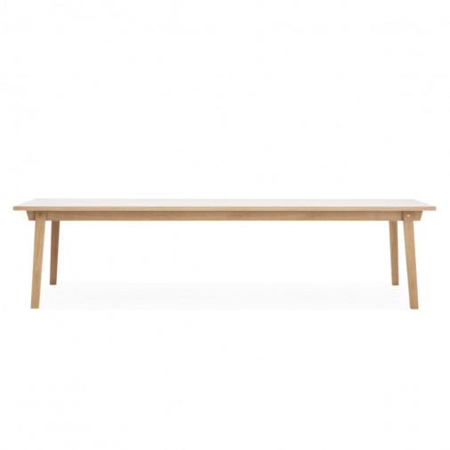 Duży stół Slice 90 x 300 Oak Normann Copenhagen