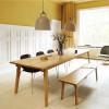 Duży dębowy stół Slice 90 x 250 Oak Normann Copenhagen