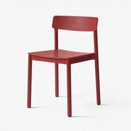 Czerwone krzesło Betty TK2 &Tradition