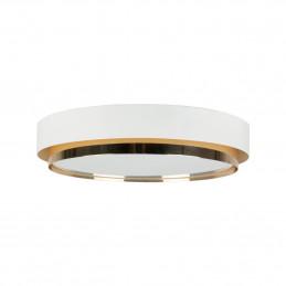Biała lampa sufitowa Ring bs. living