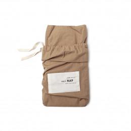 Poszewka na poduszkę Luso Tobacco brown 40x40cm Take a NAP
