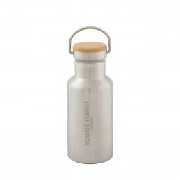 Stalowa butelka termiczna Thermo Bottle 350 ml Bamboo Lid Yummi Yummi