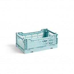 Plastikowa skrzynka S Arctic Blue Crate HAY