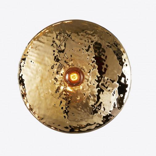 Szklana lampa ścienna Zenith Nabbia mała - Radar