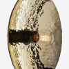 Szklana lampa ścienna Zenith Nabbia duża - Radar