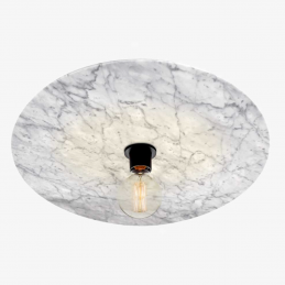 Marmurowa lampa sufitowa Venus Radar interior