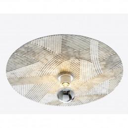 Marmurowa lampa sufitowa Solco Radar interior