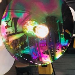 Mała lampa ścienna Zenith Iris Radar