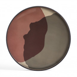 Szklana taca Pinot Combined Dots XL Ethnicraft
