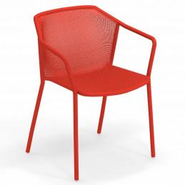 Czerwony fotel ogrodowy Darwin 522 Emu