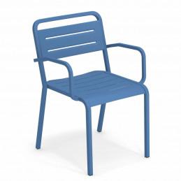 Niebieski fotel ogrodowy Urban 209 Emu