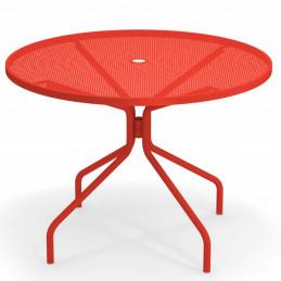 Czerwony stół ogrodowy Cambi 804 Emu