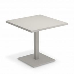 Szary stół ogrodowy Round 473 Emu