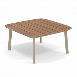Aluminiowy stolik kawowy ogrodowy Shine 252 Emu
