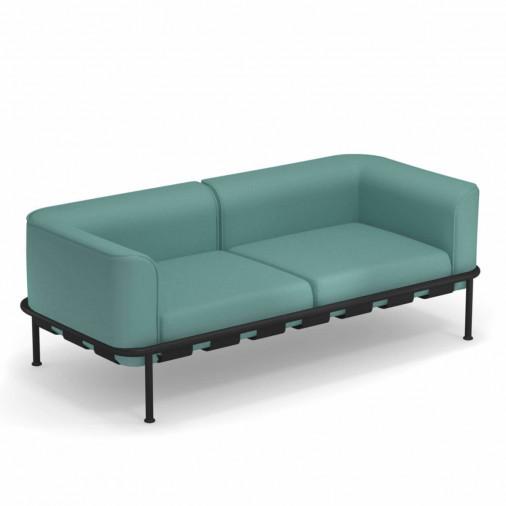 Sofa ogrodowa Dock 742 z poduszkami Emu