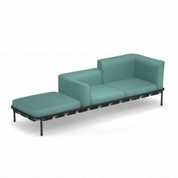 Sofa ogrodowa z poduszkami Dock 743+C751/C754/C757 Emu