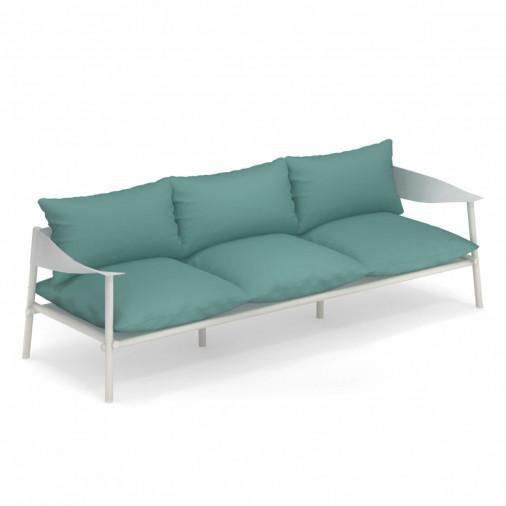 Sofa ogrodowa z poduszkami Terramare 731+C729 Emu