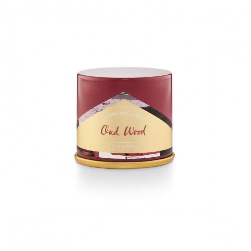 Zapachowa świeca Demi Vanity Oud Wood Absinthe Illume