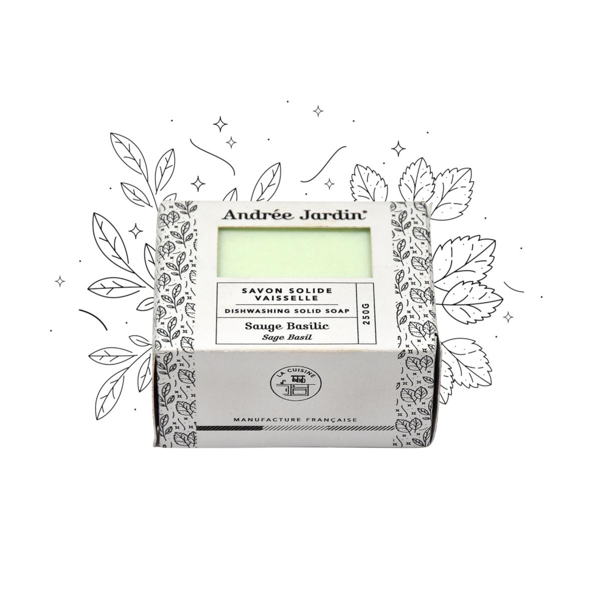 Naturalne mydło w kostce Mint/lemon Andree Jardin