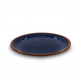 Gliniany talerz Obiadowy 26cm Colorama Bleu Authentique Living