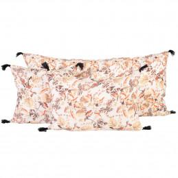 Lniana poszewka na poduszkę Colibri 45x45 Blanc Harmony