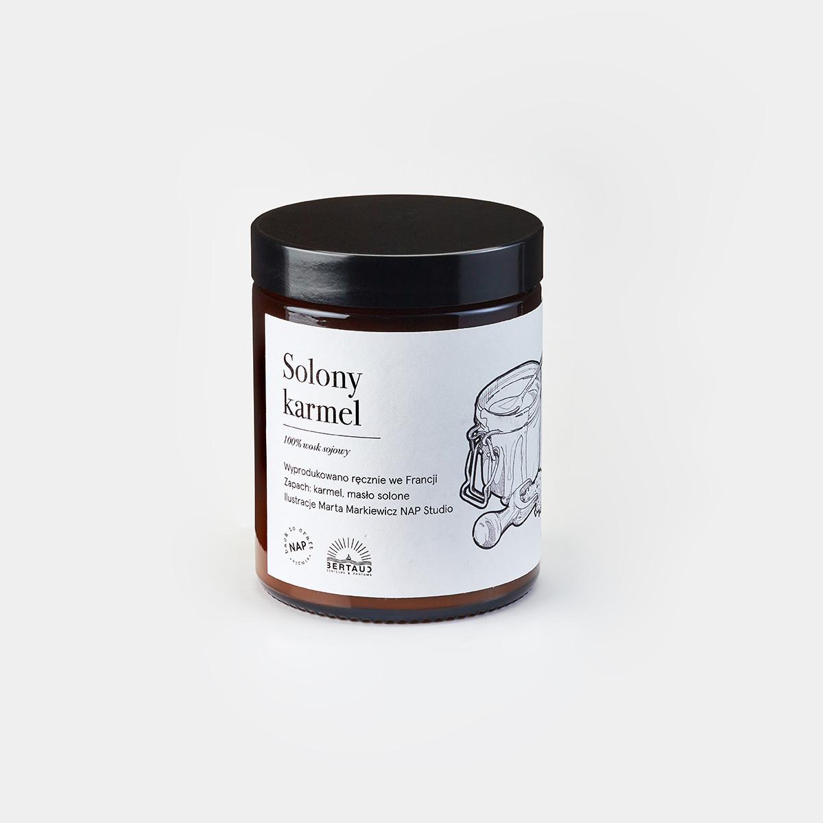 Świeca solony karmel 140g NAP x Bartaud