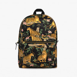 Wodoodporny plecak Black Lazy Jungle Wouf