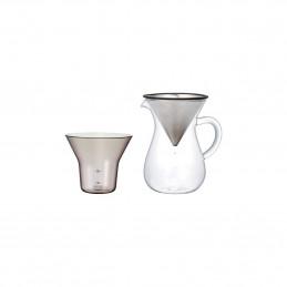 Żaroodporny zestaw do parzenia kawy coffee carafe set 300ml Kinto