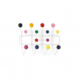 Drewniany wieszak na ubrania Hang it all multi-coloured Vitra