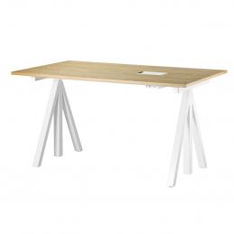 Dębowe biurko Desktop 140x78cm String