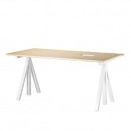 Jesionowe biurko Desktop 160x78cm String