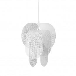 Biała lampa wisząca Superpose Ø 30 cm Normann Copenhagen