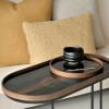 Tace ze szkła Bronze Organic marki Ethnicraft