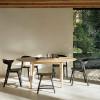 Kultowy stół rozkładany Oak Bok round Ethnicraft