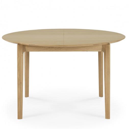 Dębowy stół rozkładany Bok round Ethnicraft