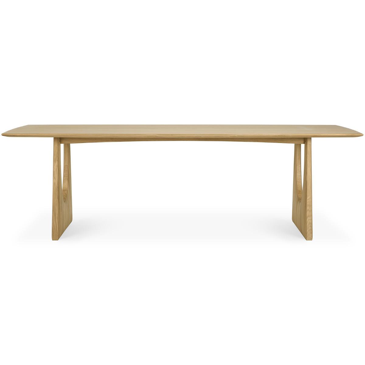 Dębowy stół Geometric Ethnicrft