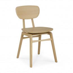 Solidne krzesło dębowe Pebble Ethnicraft