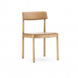 Krzesło tapicerowane jesionowe do jadalni