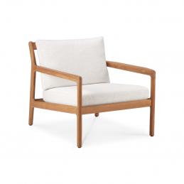 Fotel ogrodowy Ethnicraft w kolorze białym