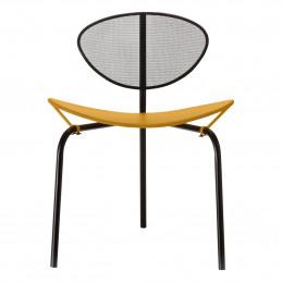 Musztardowe krzesło Nagasaki Gubi
