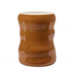 Błyszczący stolik Pawn Ø40 Serax w kolorze rdzy