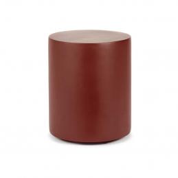 Czerwony stolik Pawn Ø30 Serax