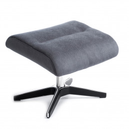 Podnóżek Beyoung x-foot na czarnej aluminiowej podstawie - Conform